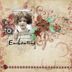 Butterfly Dsign - Quiet Moment mini kit  Heartstring Scrap Art - Arty Inspiration 1 template  Ireland Rose photo