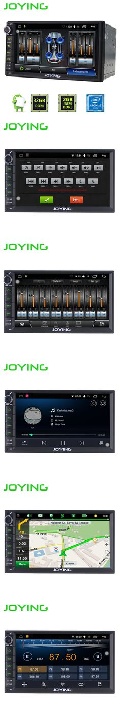 """7""""Joying 2GB+32GB 2 Din Universal Car Audio Stereo Radio Android 6.0 Multimedia Player GPS Navigation with built-in amplifier"""