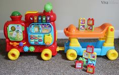 Undercelebrated Milestones with VTech Toys Review & GIVEAWAY