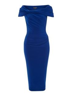 Pied a Terre Slinky knot jersey dress Midnight - House of Fraser