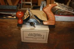 Lie Nielsen No 85 scraping plane with box