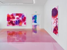 Candy-Colored Floor Resin Exhibition * Peter Zimmermann