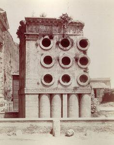The tomb of Marcus Vergilius Eurysaces, Rome, date unknown.