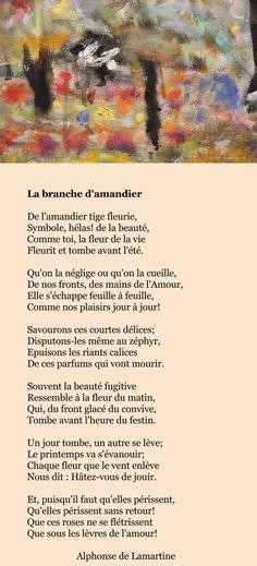 Lamartine – La branche d'amandier | À la française …