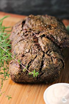 beef beef tenderloin with horseradish sauce garlic herb beef ...