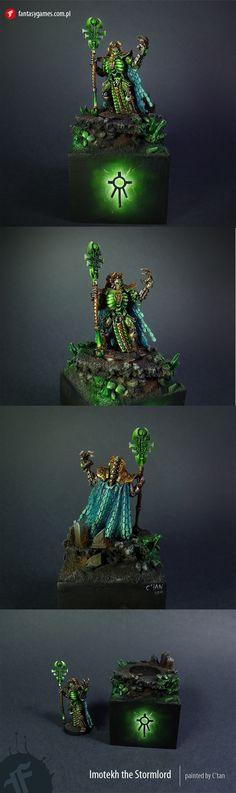 Ideas for a necron color scheme - The Painting Forum - 40K Online