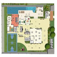 planta baixa de piscina - Pesquisa Google