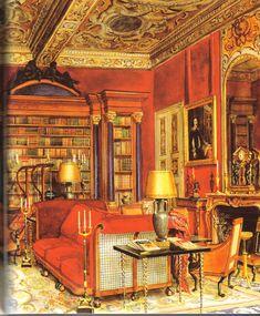 Hotel Lambert: Painter of Interiors: Alexandre Serebriakoff
