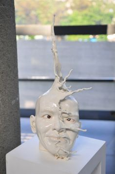 Living Clay: Artist Johnson Tsang Brings Ceramic Bowls and Cups to Life sculpture ceramics anthropomorphic Ceramic Bowls, Ceramic Pottery, Ceramic Art, Slab Pottery, Thrown Pottery, Pottery Vase, Ceramic Mugs, Pottery Sculpture, Sculpture Clay
