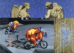 David Salle - Angels in the Rain