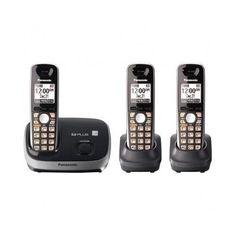 #Cordless Phones Telephone #Handset Telephones #Speaker Phone #Caller ID Black Wall
