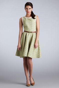 Novelty Belted Girly Dress
