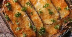 Cheesy Eggplant Sausage Casserole – 12 Tomatoes