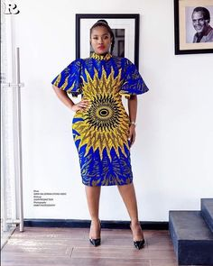 Simple and Elegant Ankara Short Gown Styles : Simple Styles.Simple and Elegant Ankara Short Gown Styles : Simple Styles African Dresses For Women, African Print Dresses, African Print Fashion, African Attire, African Wear, African Fashion Dresses, African Women, African Prints, Ankara Fashion