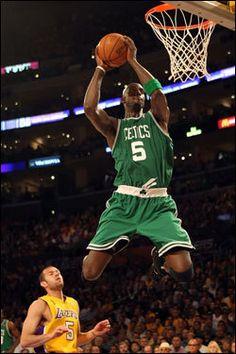 Kevin Garnett,my favorite basketball player. Go Celtics!!