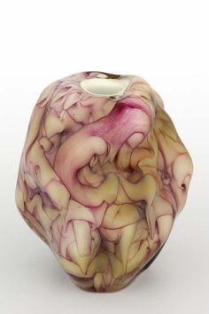 Per B Sundberg (Swedish), Orrefors, Glass Vase.