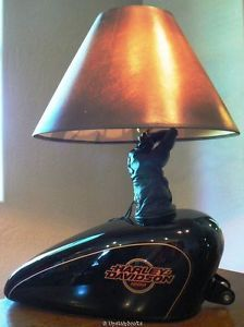 One of a kind custom design harley davidson tabledesk lamp 1997 harley davidson xl 1200 sportster gas tank lamp man cave bar giftable ebay audiocablefo