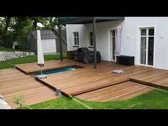Hidden Pool, Patio, Outdoor Decor, Garden, Youtube, Home Decor, House, Homemade Home Decor, Yard