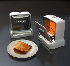 10 Tantalizing Toaster Concepts! aka cool toasters!