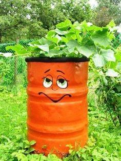 Resultado de imagem para rain barrels painted