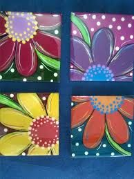 Resultado de imagen para individuales con resina Tole Painting, Fabric Painting, Diy Painting, Painting On Wood, Painted Pots, Tile Art, Easy Paintings, Art Plastique, Creative Art