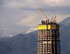 https://flic.kr/p/acJJpy | Costanera Center. En construcción! | Santiago de Chile. Chile.