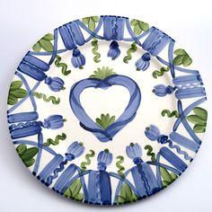 Alle Platzteller der Familie VertBleu! Die Grün-Blaue Designfamilie von Unikat-Keramik. Das wohl einzigartigste Keramik Geschirr der Welt!