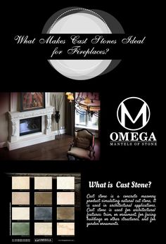 Why Is Cast Stone The Best Choice For Fireplace Mantels?