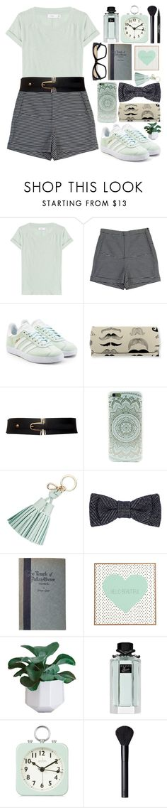 """Minty fresh..."" by bleucabbage ❤ liked on Polyvore featuring Vince, Rachel Comey, adidas Originals, Kate Spade, PALLAS, DENY Designs, Gucci, Acctim, NARS Cosmetics and Trish McEvoy"
