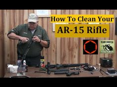 ▶ Properly Cleaning The AR 15 - YouTube