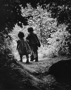 """The Walk to Paradise Garden"" ~ W. Eugene Smith, c.1946    #photography"