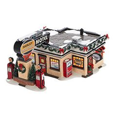 """Department 56: COLLECTING - """"Harley® Roadside Motel"""" - New Introductions"""