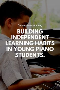 4 piano lesson activities to encourage student independence I Need Help, Piano Teaching, Piano Lessons, Making Mistakes, I Got This, Confidence, It Hurts, Encouragement, Students