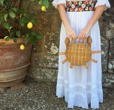 Fashion trends and beauty tips, plus art, culture and travel inspiration Ethnic Chic, Fashion Gallery, Harpers Bazaar, Straw Bag, Nice Dresses, Beauty Hacks, Culture, Lace, Fashion Trends