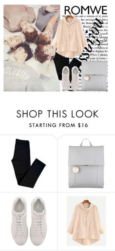 """""""Sans titre"""" by missbijou ❤ liked on Polyvore featuring J Brand, Radley, Fendi, contest, romwe, kpop, contestentry and bts"""