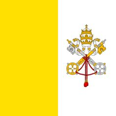 Roman Catholic saints and heroes! The glory of the Catholic Church throughout the ages. The Blessed Virgin, titles of Mary, calendars of the saints Le Vatican, Vatican City Flag, Flags Of The World, Countries Of The World, Geography Quiz, Santa Sede, Flag Shop, Belize City, National Animal