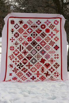 Quilt Story: Amber's Farmers Wife quilt finish...AMAZING