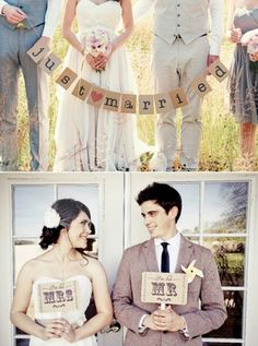 Adorable just married ideas