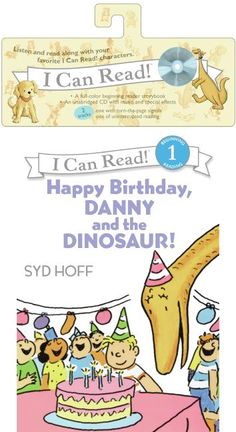 Happy Birthday, Danny and the Dinosaur! Book and CD  by Syd Hoff