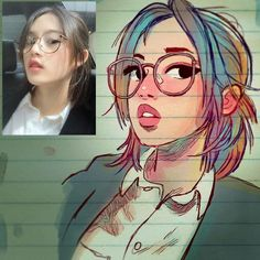 Manga Character Drawing Artist Transforms People Into Cartoons And They Will Blow Your Mind - bemethis - Some people can see sounds as colors and hear colors. This artist sees people as cartoons. Drawing Cartoon Characters, Character Drawing, Cartoon Drawings, Cartoon Art, Art And Illustration, Character Illustration, Portrait Illustration, Art Drawings Sketches, Cute Drawings