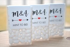 Tic Tac Labels Mint To Be Bridal Shower Favors by sosweetpartyshop (Bottle Bag W. - Tic Tac Labels Mint To Be Bridal Shower Favors by sosweetpartyshop (Bottle Bag Wedding Favors) - Bridal Shower Favors Diy, Beach Wedding Favors, Brunch Wedding, Bridal Shower Party, Unique Wedding Favors, Bridal Shower Decorations, Diy Wedding, Party Favors, Party Gifts