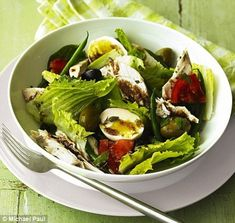 Fabulously French: french food Friday...Chicken Nicoise