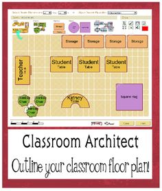 Create your classroom layout. Easy and free!