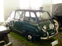 1960 Fiat 600 Multipla Taxi