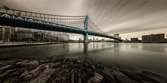 Manhattan Bridge by Edward Reese