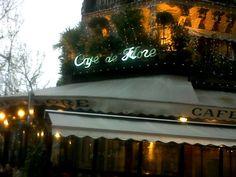 A nice cafe in Vesoul, France.