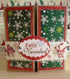 Navidad coronas de navidad and coronas on pinterest - Postales navidenas creativas ...
