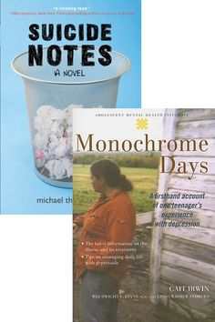 Try MONOCHROME DAYS for nonfiction information about depression.