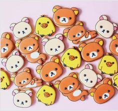 "Y&Csweets Yohko on Instagram: ""❤️Rilakkuma cookies❤️ 癒される☺️Love it! . #icingcookies#cookies#edibleart#royalicing#decoratedcookies#sugercookies#sweet#sweets#lindo#cute#kawaii#baking#instafood#character#rirakkuma#rirakkumacookies#kawaiianime#rilakkuma#rilakkumacookies#galletas#쿠키#아이싱쿠키#曲奇#アイシングクッキー#リラックマ#リラックマクッキー#クッキー#かわいい#お菓子#ycsweets"""
