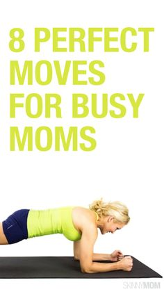 Great moves for moms on the go! #exercise #busymoms #selfcare